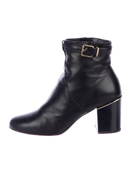 Robert Clergerie Leather Boots Black