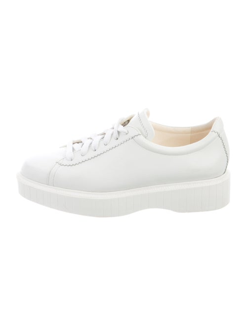 Robert Clergerie Leather Sneakers White