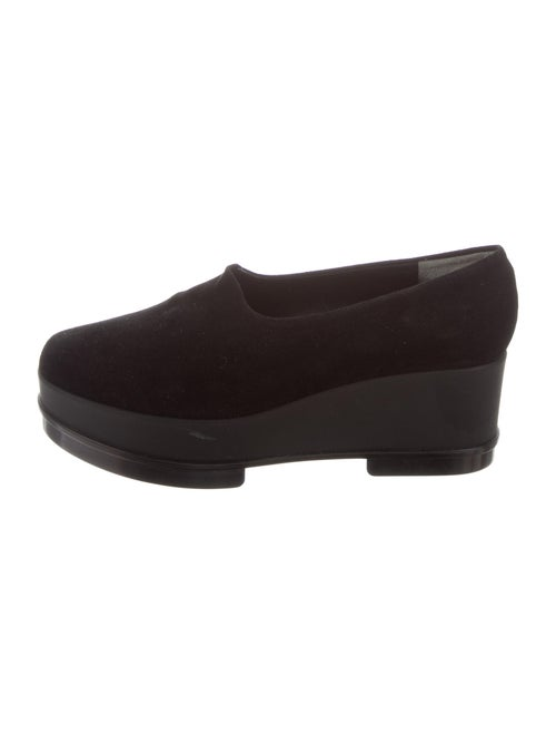 Robert Clergerie Suede Loafers Black