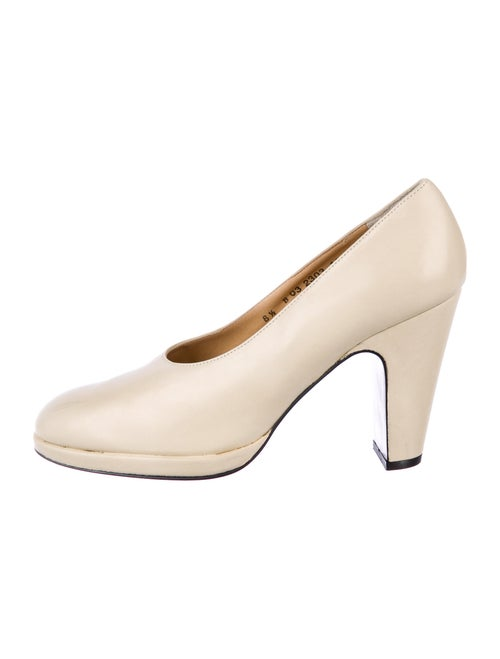Robert Clergerie Leather Pumps