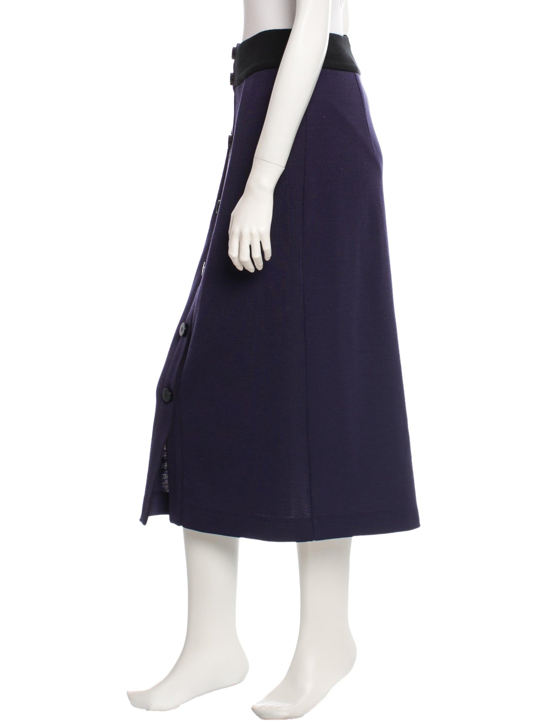 roksanda ilincic knitted midi skirt clothing rok20251