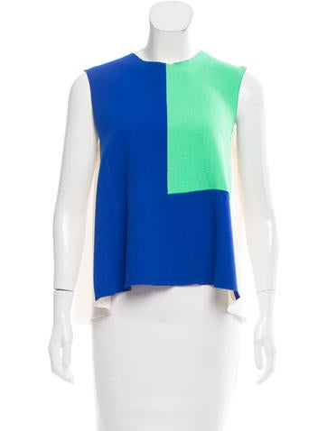 Roksanda Sleeveless Wool Top None
