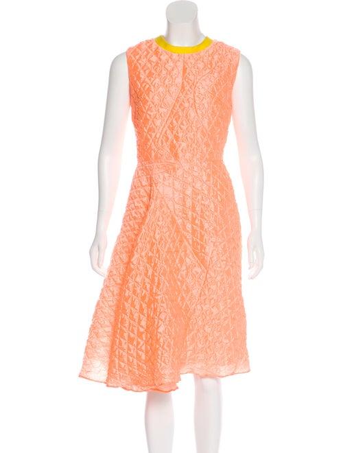 Roksanda A-Line Midi Dress Orange