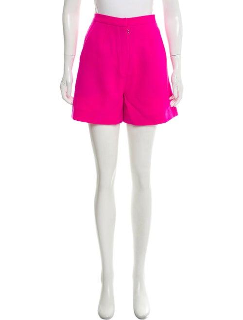 Roksanda Crepe High-Rise Shorts Pink