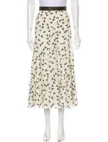 Roksanda Silk Midi Length Skirt