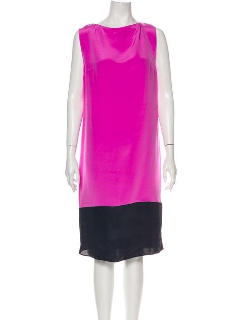 Roksanda Silk Midi Length Dress Pink