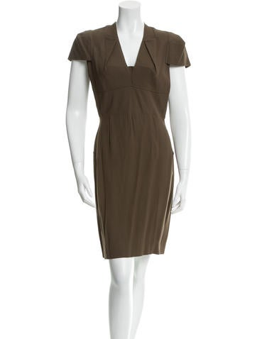 Roland Mouret Knee-Length Sheath Dress