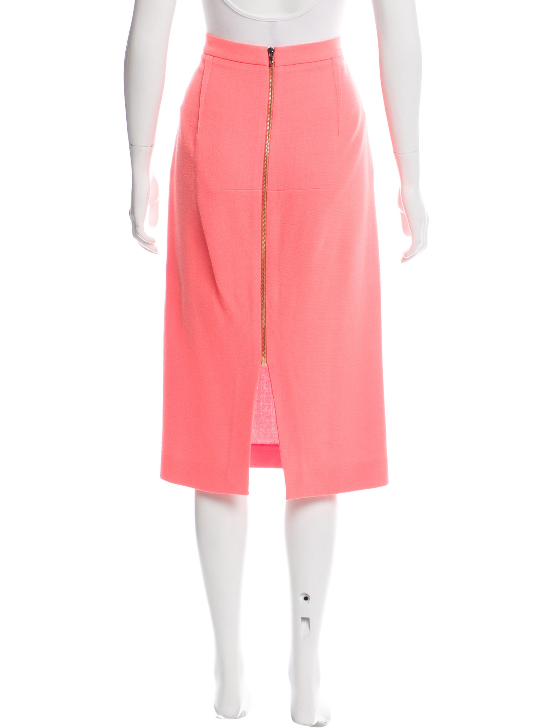 roland mouret wool pencil skirt clothing rol22597