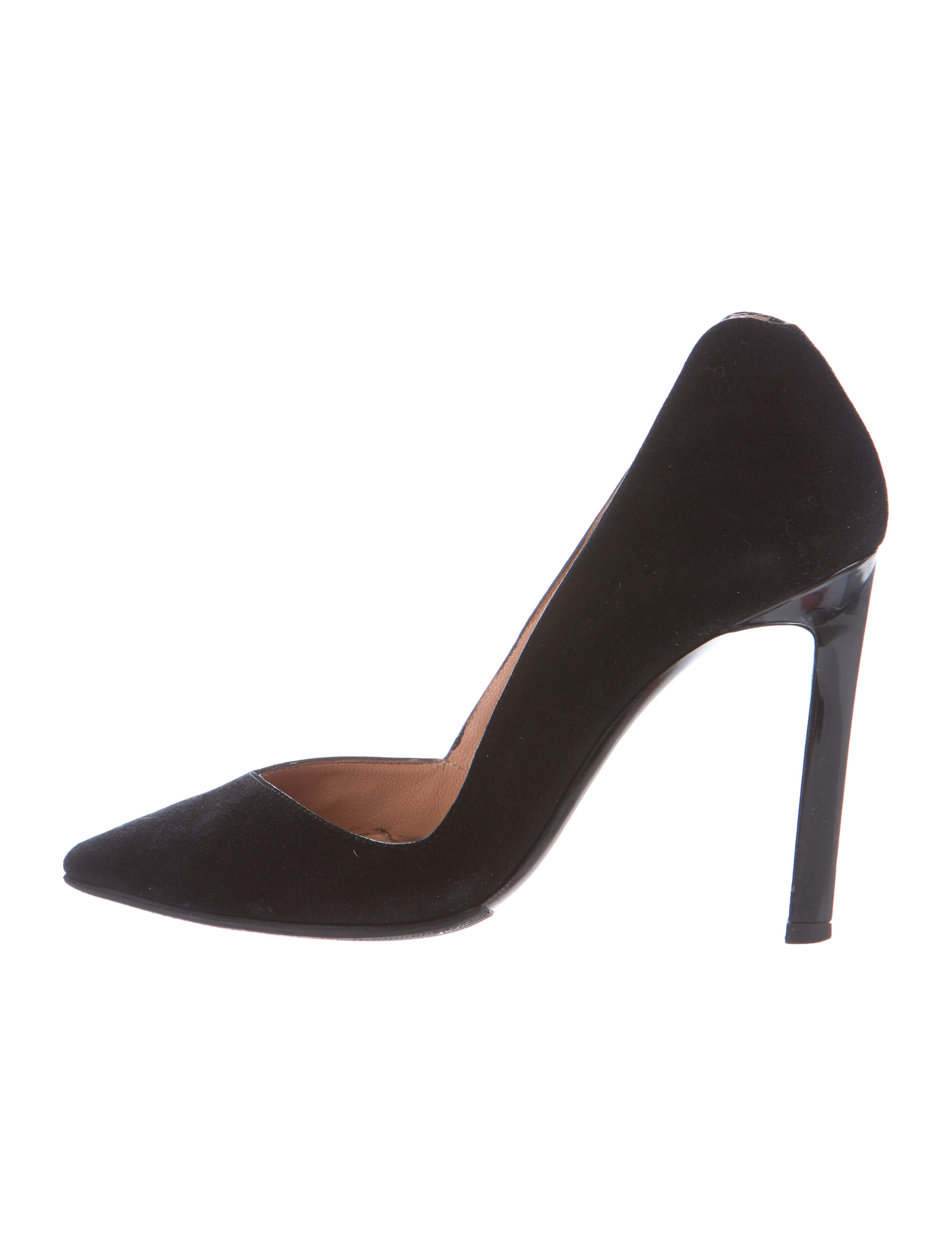 with paypal cheap online Roland Mouret Leather Pointed-Toe Pumps clearance enjoy 6GdrZTJJN5
