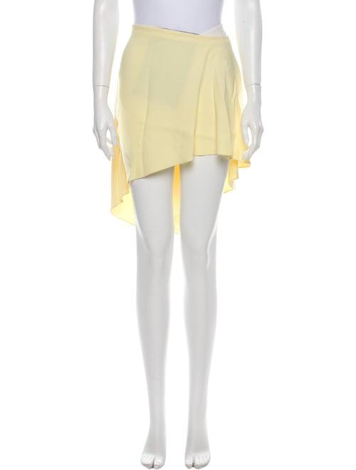 Roland Mouret Knee-Length Skirt Yellow