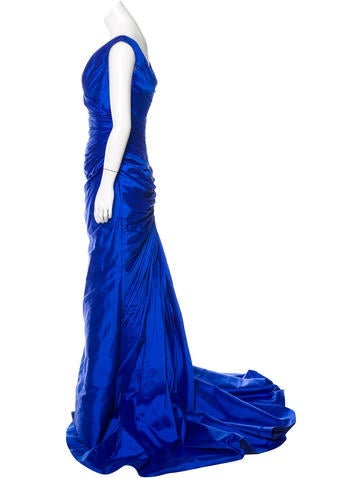 Corseted Silk Gown