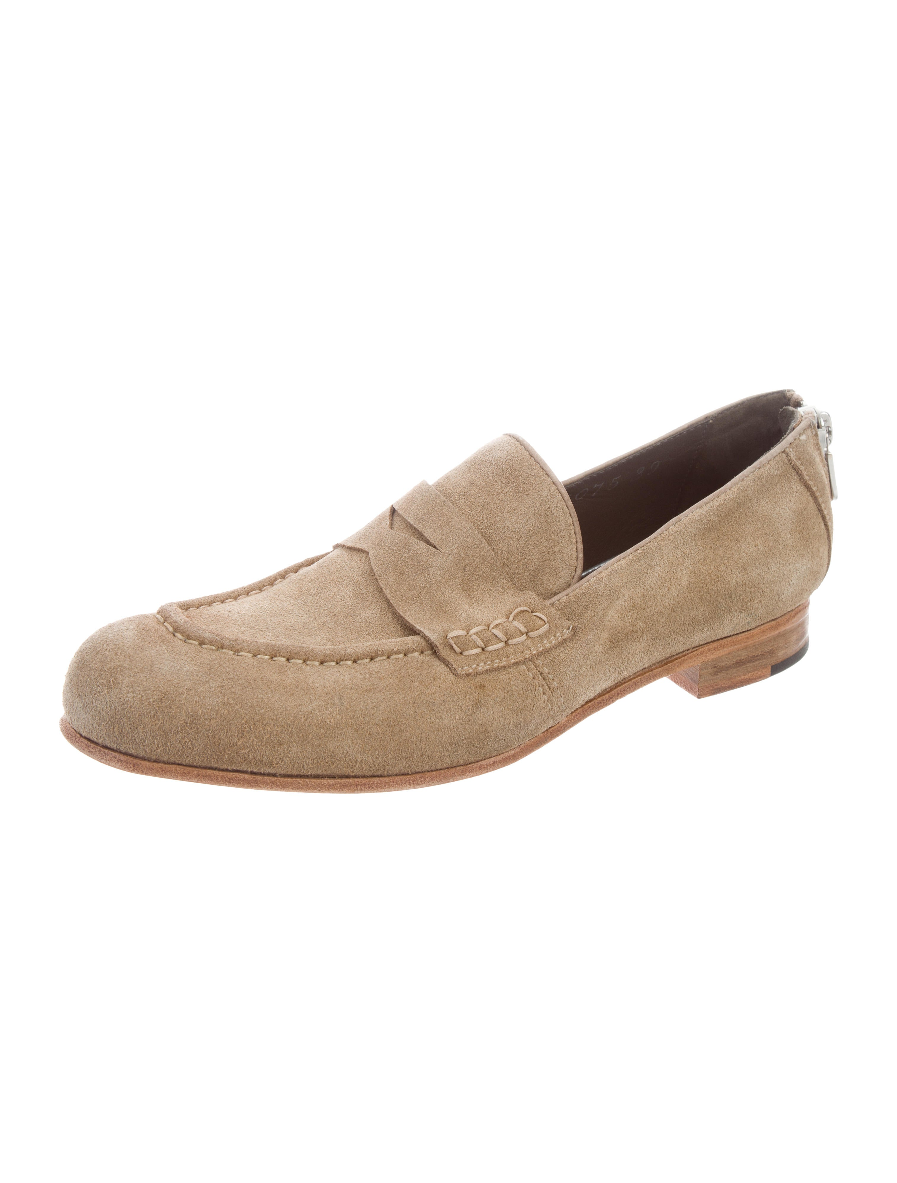 2014 new sale online fast delivery sale online Rocco P. Suede Penny Loafers w/ Tags sale new styles smdxqgsVe