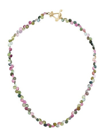 Robin Rotenier Tourmaline Briolette Necklace