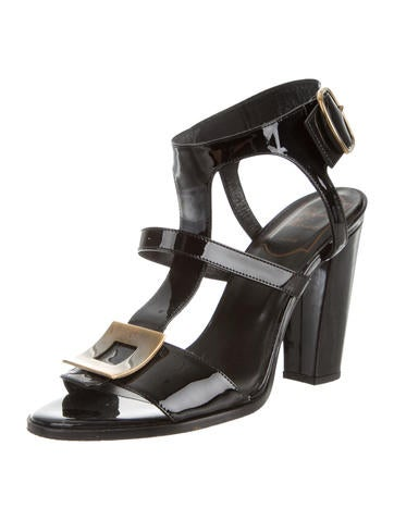 Ankle Strap Buckle Sandals