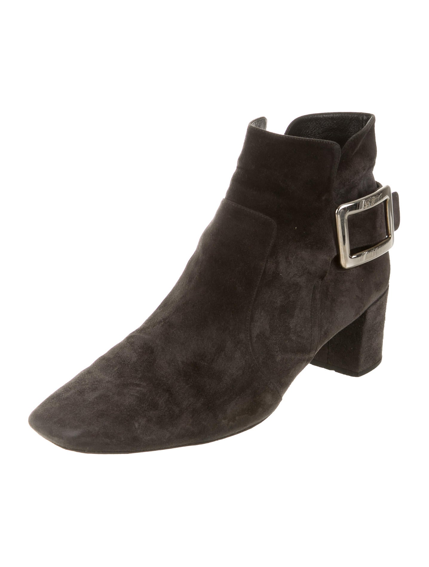 roger vivier suede ankle boots shoes rov23539 the