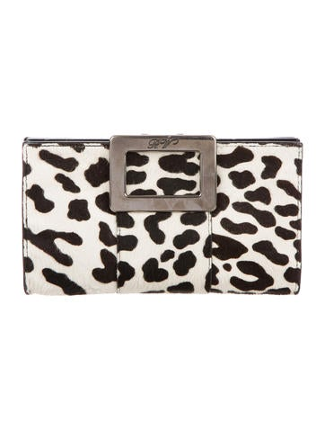 Roger Vivier Ponhair Clutch None