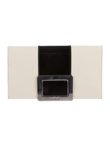 Roger Vivier Patent Leather Clutch None