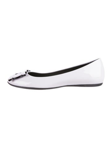 Roger Vivier Gommette Biscuits Buckle-Accented Flats None