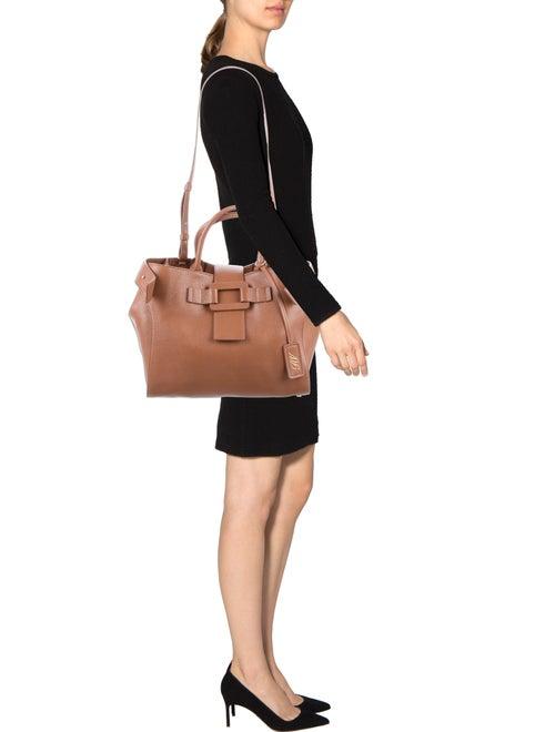 2118995312fc Roger Vivier Medium Pilgrim De Jour Tote - Handbags - ROV25111