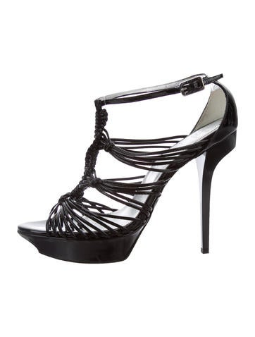 Rebecca Minkoff Multistrap Laser Cut Sandals choice for sale lowest price for sale buy cheap exclusive sneakernews discount big sale vfFdN254