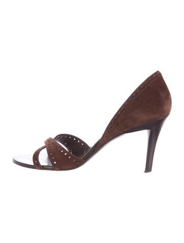 cheap USA stockist Roger Vivier Annabelle's d'Orsay Sandals outlet store cheap price SEbXcyZ4