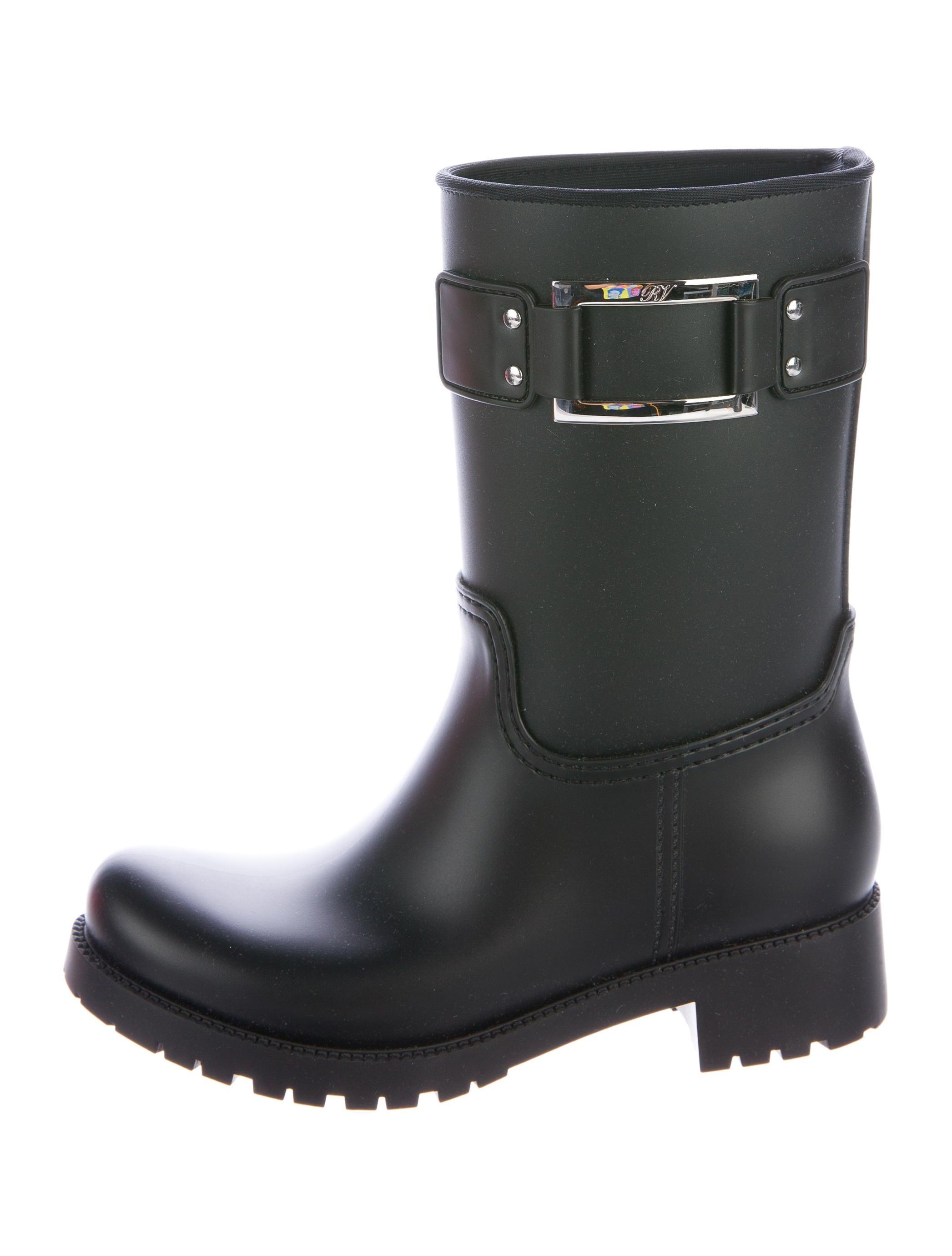 comfortable cheap online clearance footlocker Roger Vivier Rain Mid-Calf Boots IdeXD0v