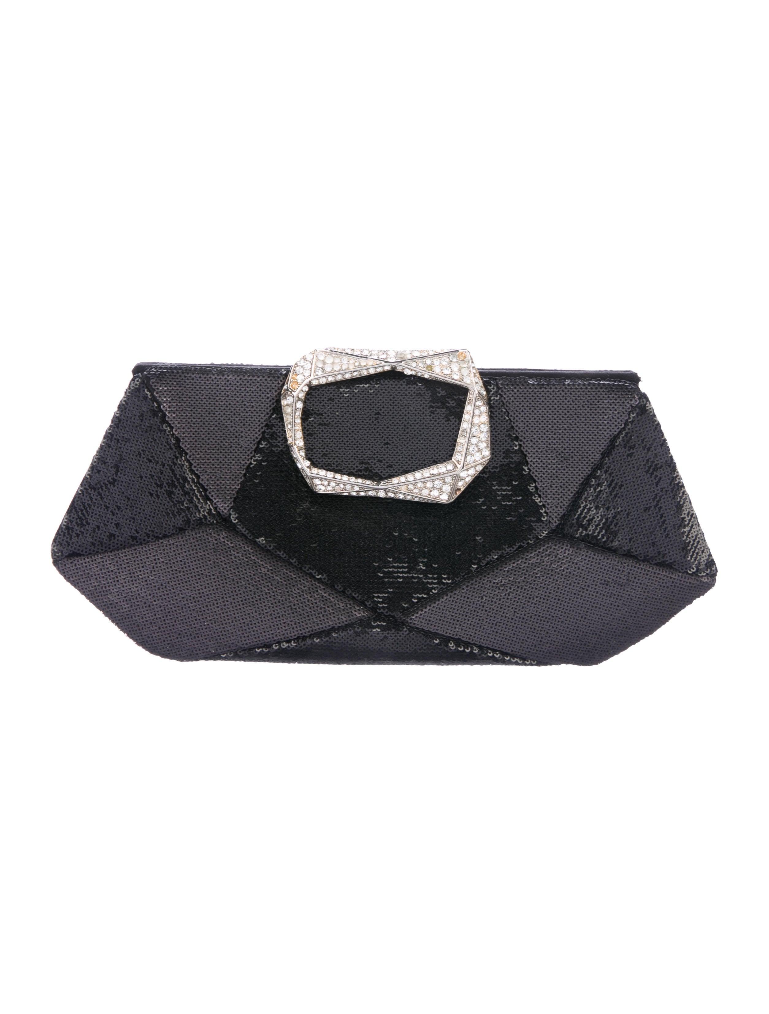 623c697c951f Roger Vivier Sequin Prism Petite Clutch - Handbags - ROV27667