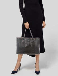 dd1bf4f10800 Roger Vivier. Perforated Leather Tote