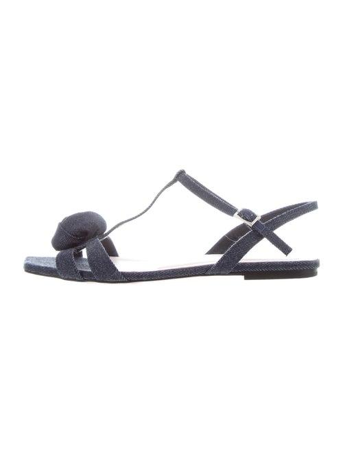 Roger Vivier T-Strap Sandals Blue