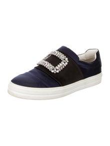 Roger Vivier Crystal Embellishments Sneakers