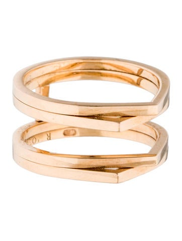 repossi 4 row antifer cage ring rings rpi20057 the