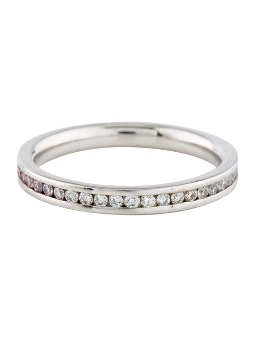 Ring 18K Diamond Channel Set Eternity Band white