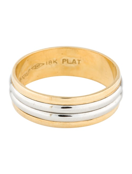 Two-Tone Band Yellow