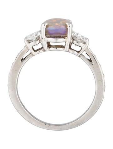 Platinum Opal & Diamond