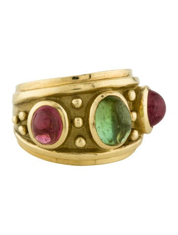 Tourmaline Cabochon Ring None