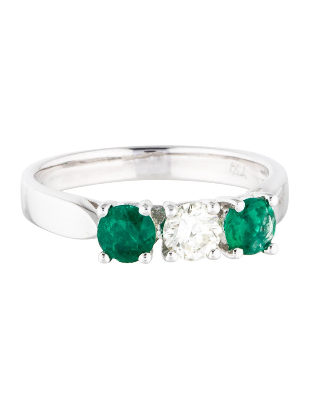 14k emerald ring rings rring27443 the realreal