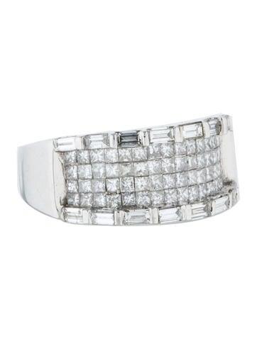 14K Mixed Cut Diamond Ring
