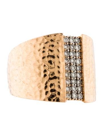 18K Diamond Row Ring