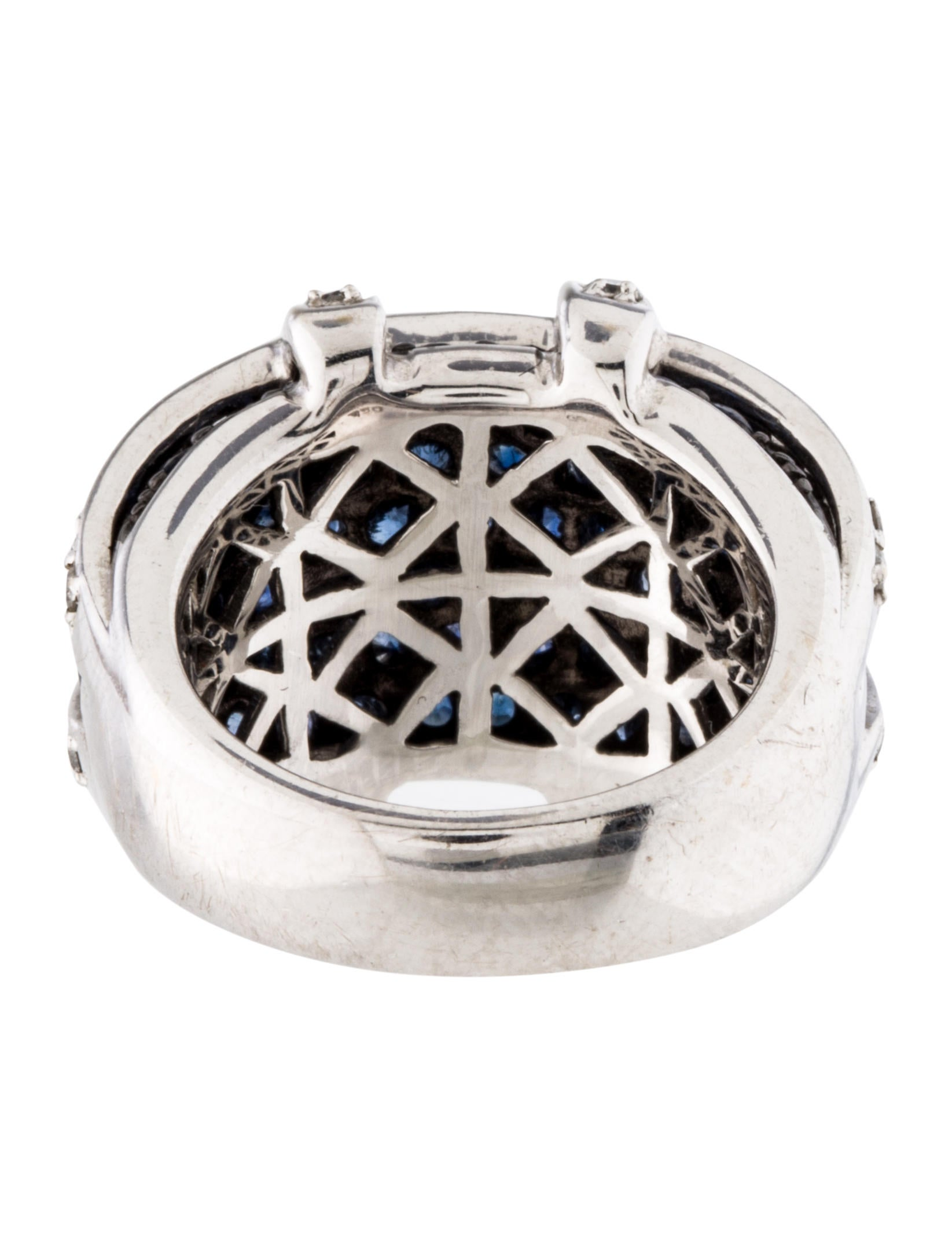sapphire cage ring rings rring31797 the