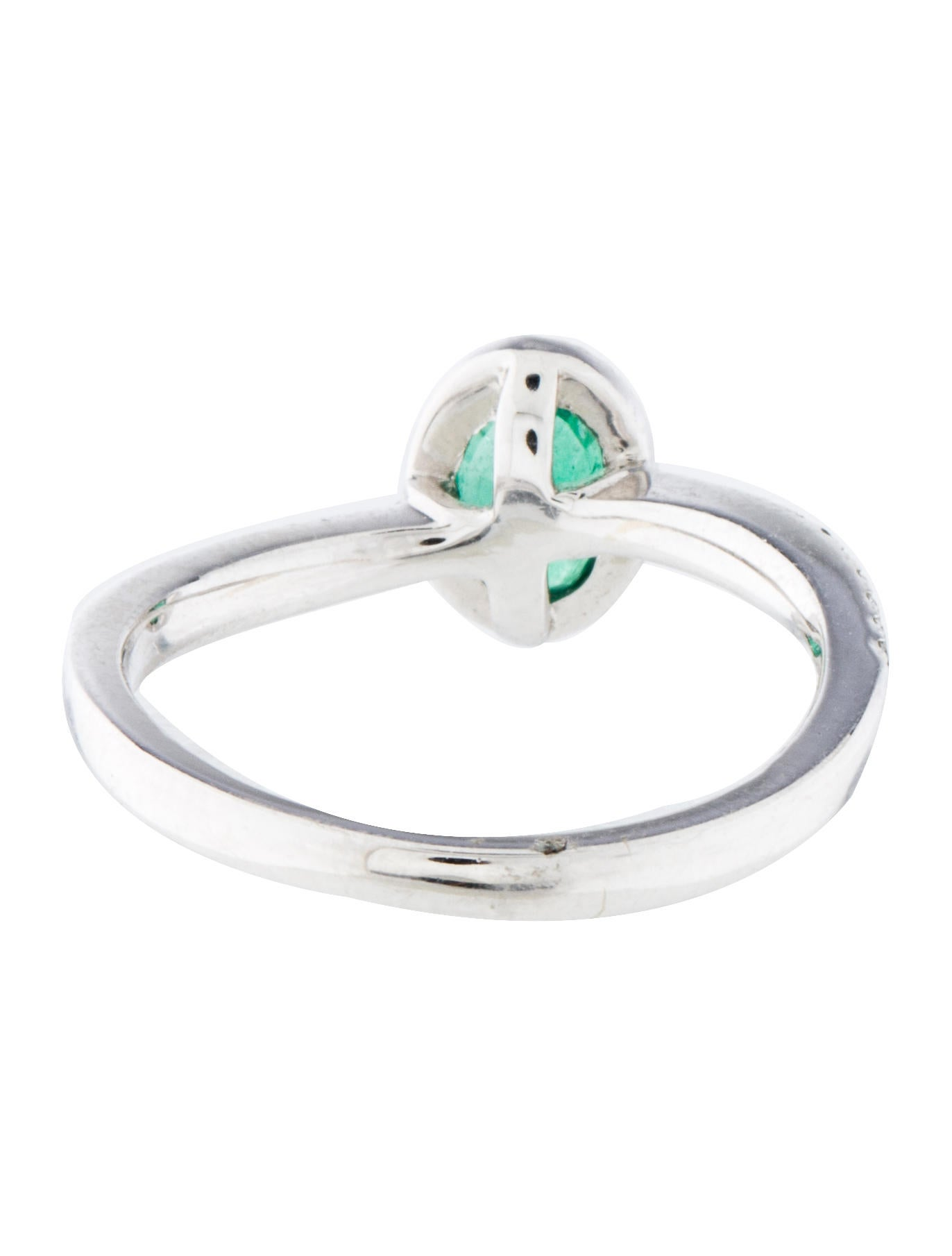 emerald halo ring rings rring31911 the