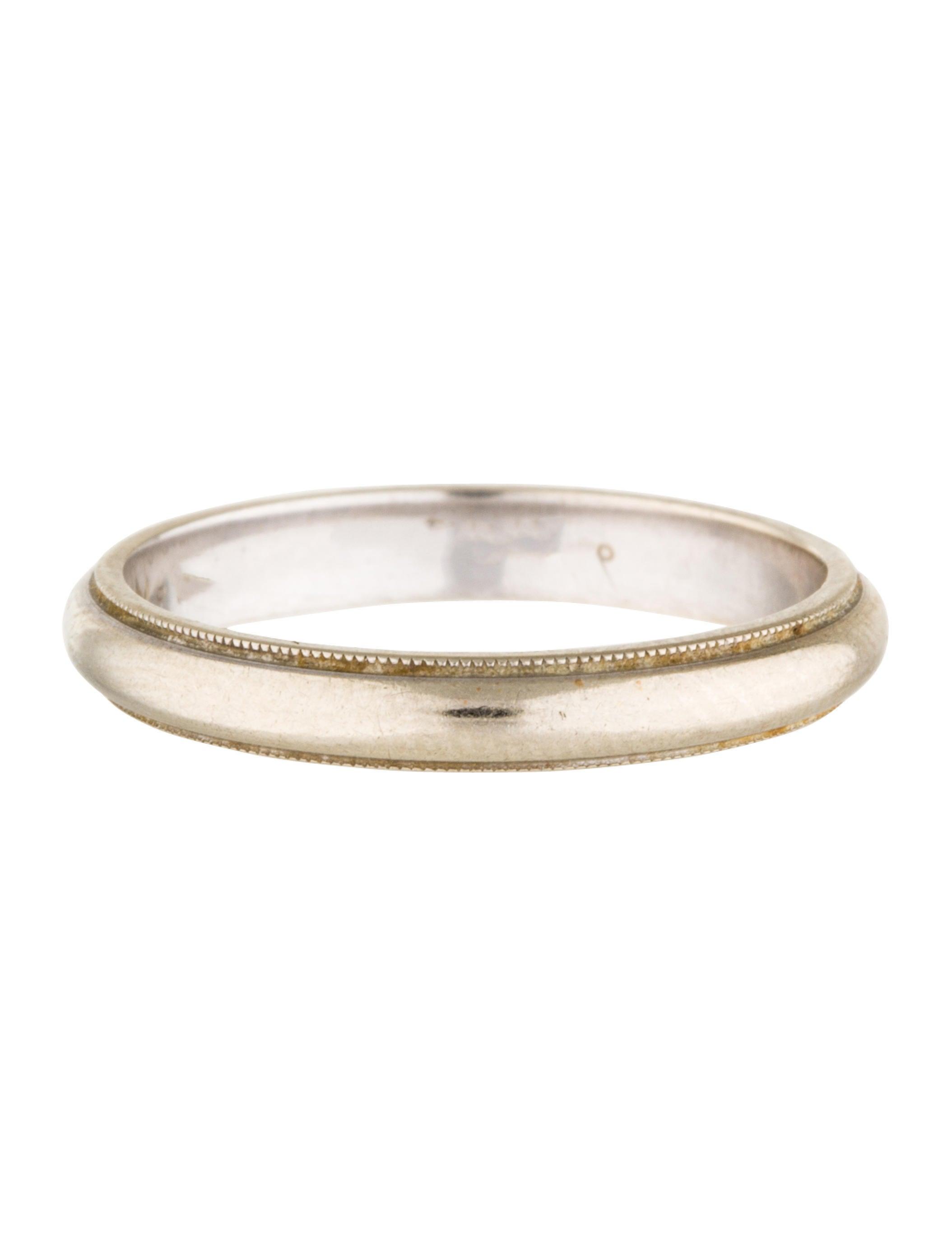 14k milgrain wedding band rings rring32461 the realreal