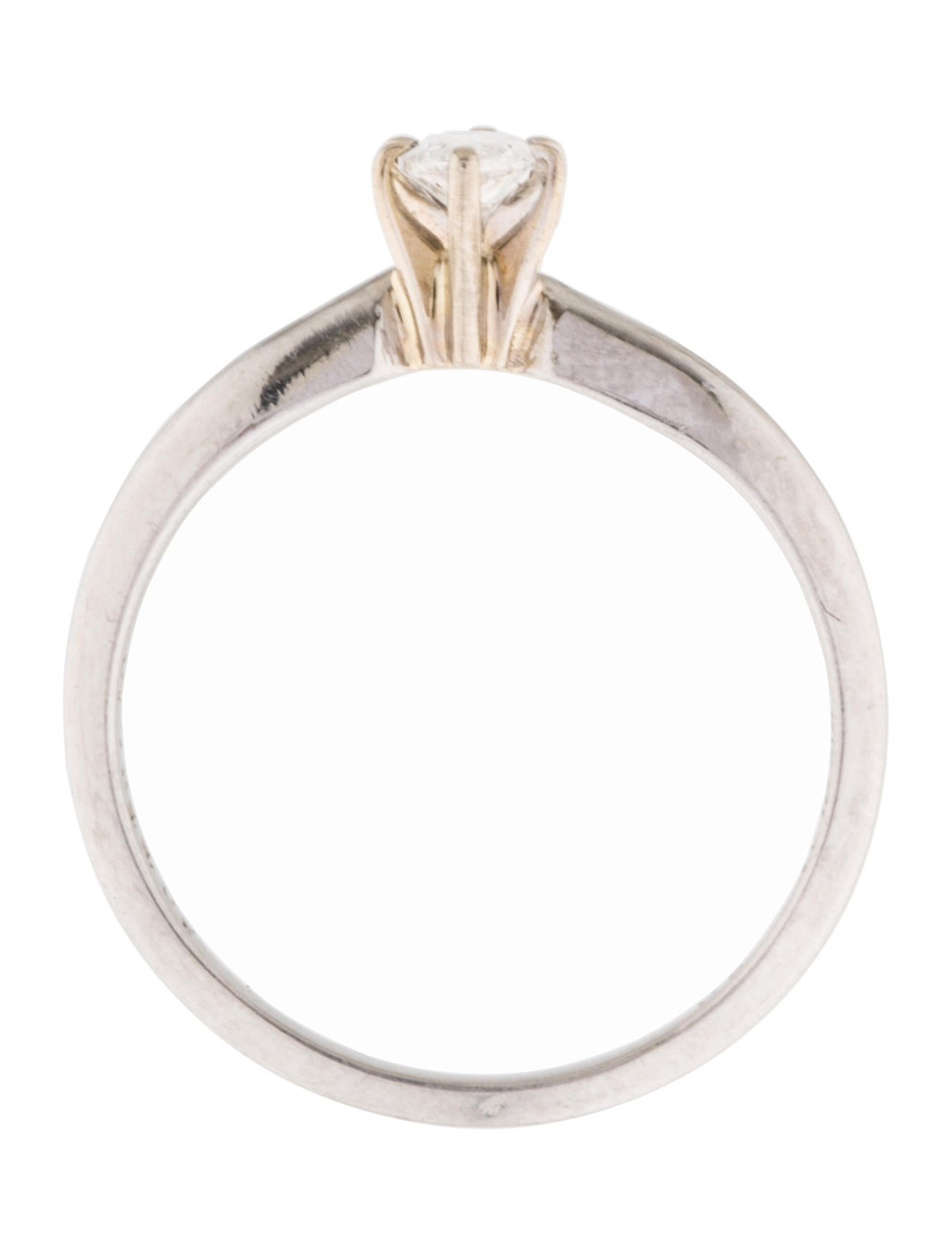 platinum marquise solitaire ring rings