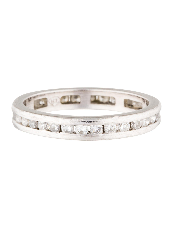 platinum eternity band rings rring33081