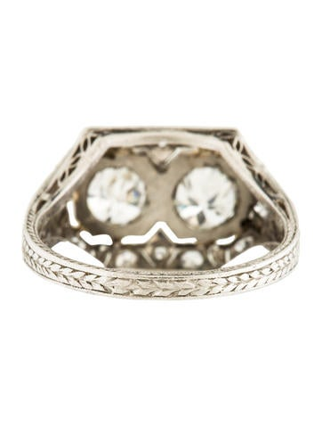 Art Deco Diamond Engagement