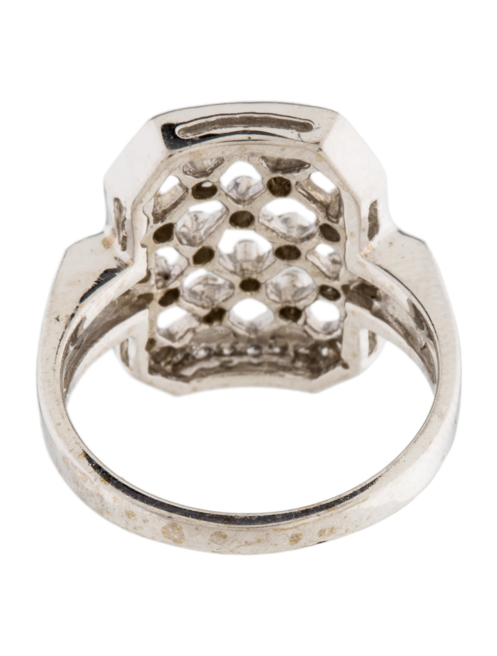 14k cage ring rings rring33367 the realreal
