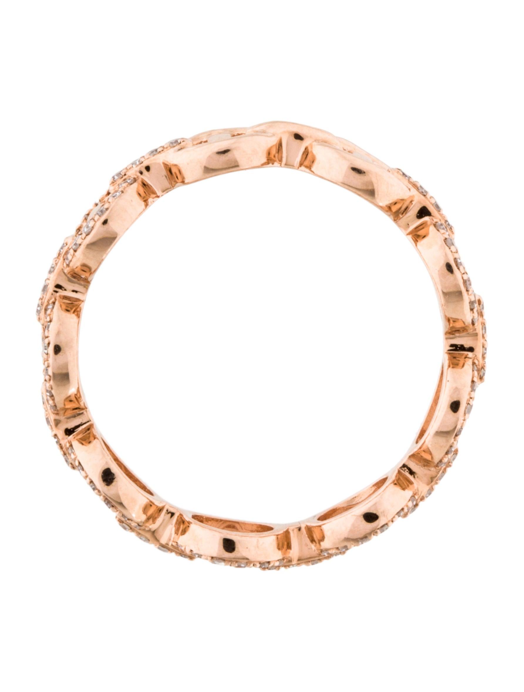 14k interlocking circles ring rings rring34220