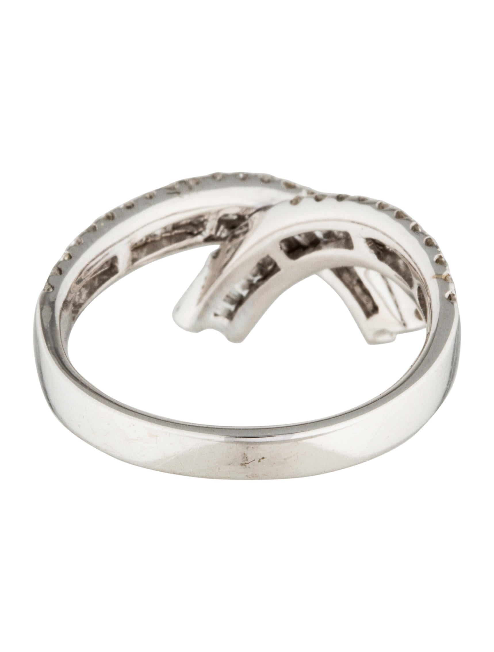 14k crossover ring rings rring34234 the realreal