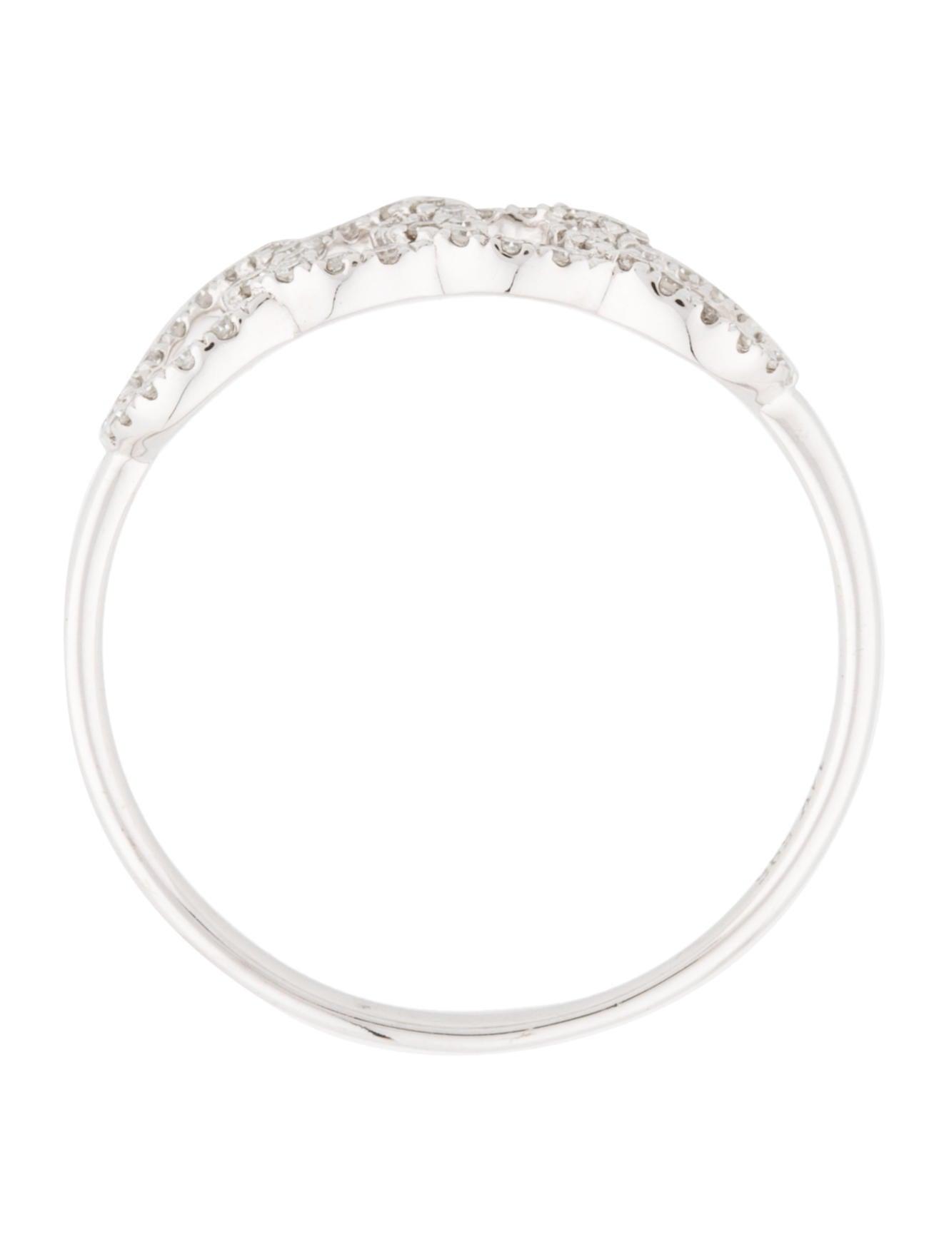 14k interlocking circle band rings rring34463