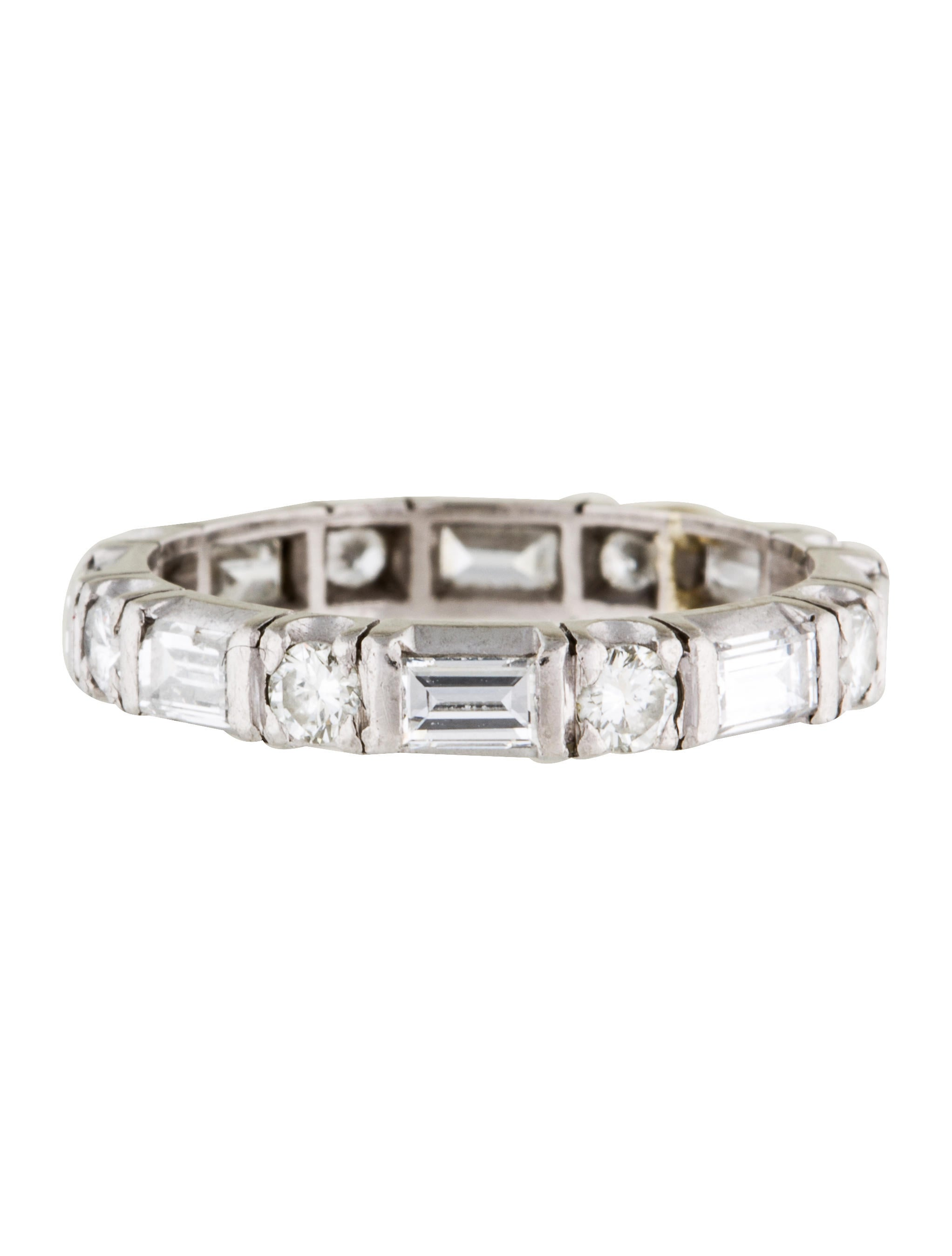 platinum eternity band rings rring34797 the