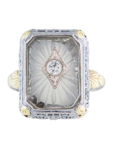 Camphor Glass Ring